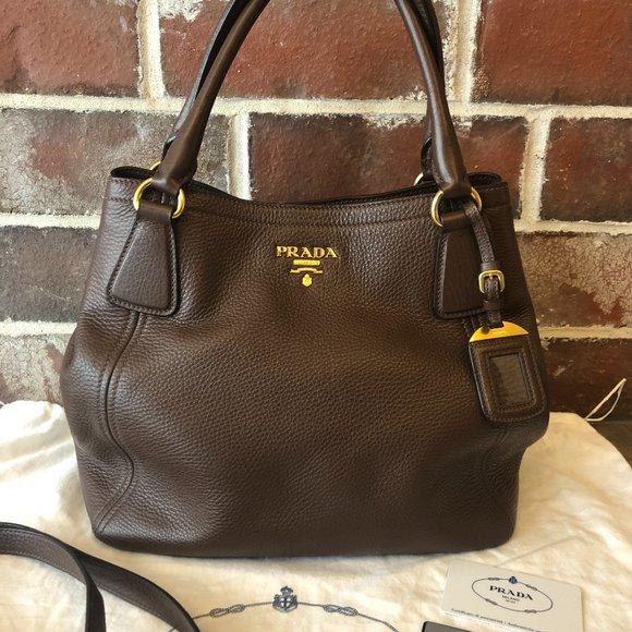Prada Handbag Sacca 2 Manici